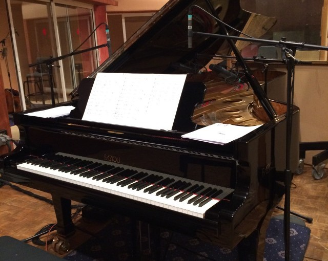 Enregistrement au studio Davout du projet «Pablo Neruda»